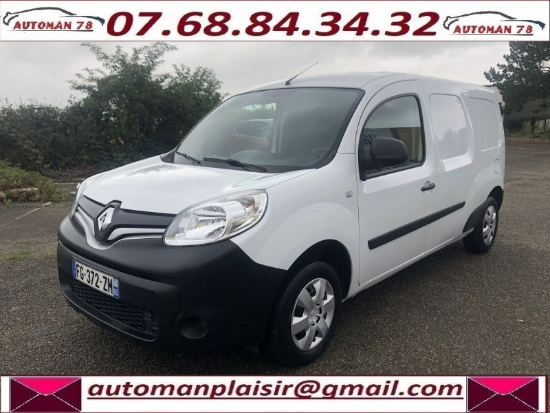 Renault Kangoo II MAXI 1.5 DCI 110CH GRAND VOLUME EXTRA R-LINK Blanc occasion à Thiverval-Grignon