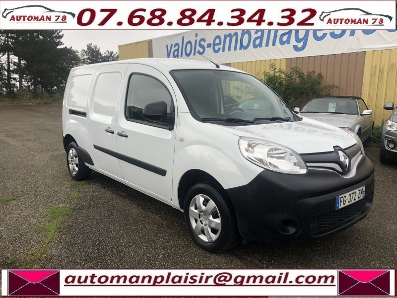 Renault Kangoo II MAXI 1.5 DCI 110CH GRAND VOLUME EXTRA R-LINK Blanc occasion à Thiverval-Grignon - photo n°3