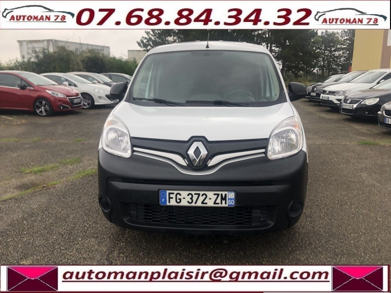 Renault Kangoo II MAXI 1.5 DCI 110CH GRAND VOLUME EXTRA R-LINK Blanc occasion à Thiverval-Grignon - photo n°2