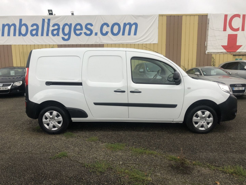Renault Kangoo II MAXI 1.5 DCI 110CH GRAND VOLUME EXTRA R-LINK Blanc occasion à Thiverval-Grignon - photo n°4