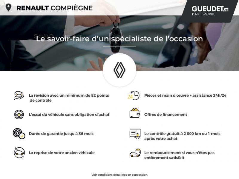 Renault Kangoo 1.5 dCi 110ch energy Grand Confort Euro6 Blanc occasion à Compiègne - photo n°16