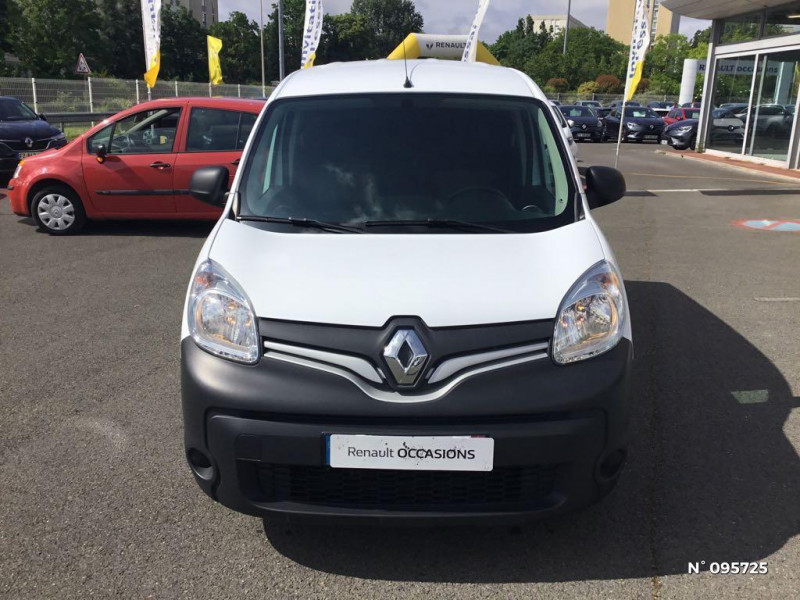 Renault Kangoo 1.5 dCi 110ch energy Grand Confort Euro6 Blanc occasion à Compiègne - photo n°2