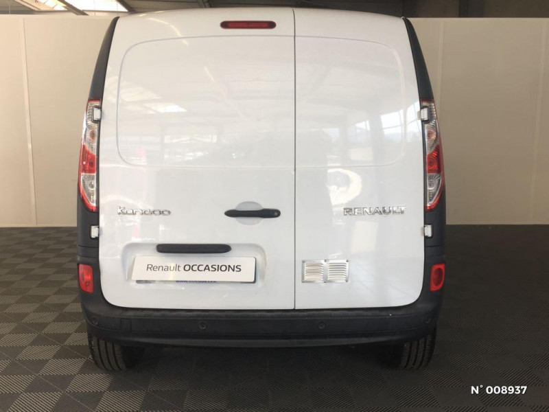 Renault Kangoo 1.5 dCi 110ch energy Grand Confort Euro6 Blanc occasion à Cluses - photo n°3