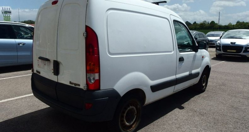 Renault Kangoo 1.5 DCI 70CH FOURGON Blanc occasion à FONTAINE LES GRES - photo n°2