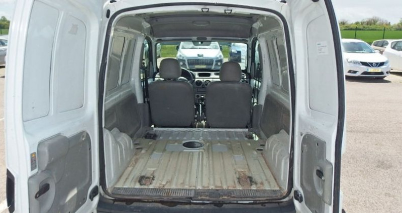 Renault Kangoo 1.5 DCI 70CH FOURGON Blanc occasion à FONTAINE LES GRES - photo n°3