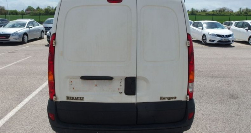 Renault Kangoo 1.5 DCI 70CH FOURGON Blanc occasion à FONTAINE LES GRES - photo n°4