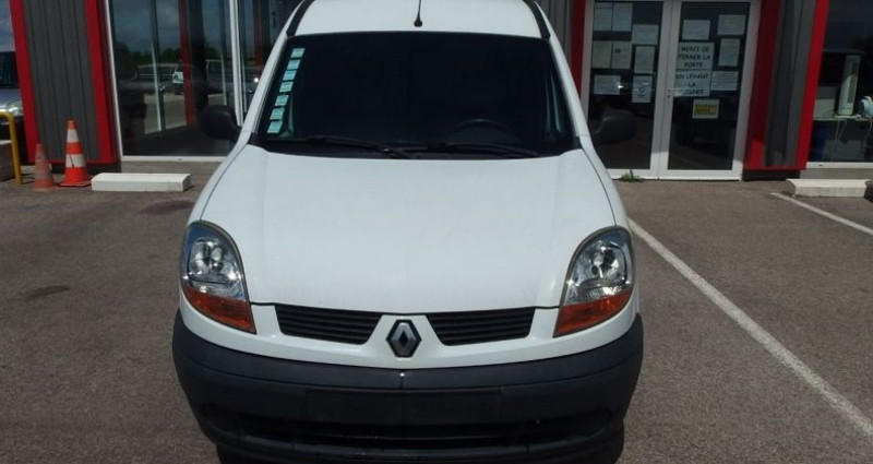 Renault Kangoo 1.5 DCI 70CH FOURGON Blanc occasion à FONTAINE LES GRES - photo n°5