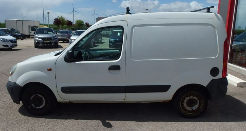 Renault Kangoo 1.5 DCI 70CH FOURGON Blanc occasion à FONTAINE LES GRES - photo n°6