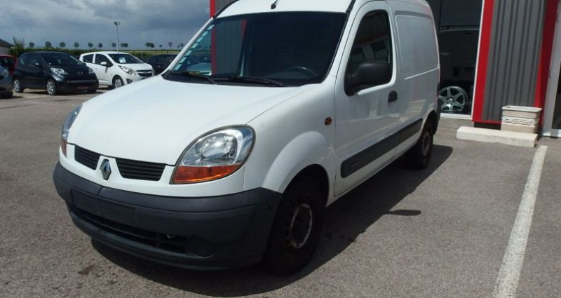 Renault Kangoo 1.5 DCI 70CH FOURGON Blanc occasion à FONTAINE LES GRES