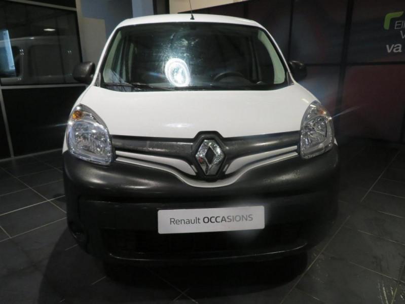 Renault Kangoo 1.5 DCI 75 ENERGY E6 EXTRA Blanc occasion à QUIMPER - photo n°3