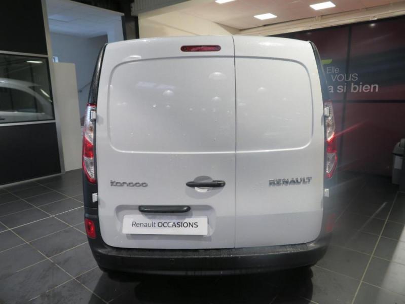 Renault Kangoo 1.5 DCI 75 ENERGY E6 EXTRA Blanc occasion à QUIMPER - photo n°8