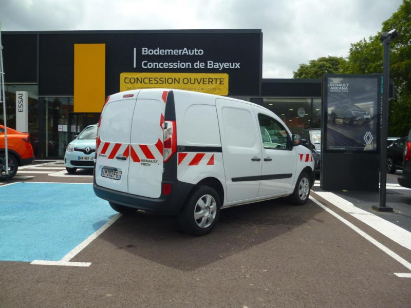 Renault Kangoo 1.5 DCI 75 ENERGY E6 Blanc occasion à BAYEUX - photo n°2