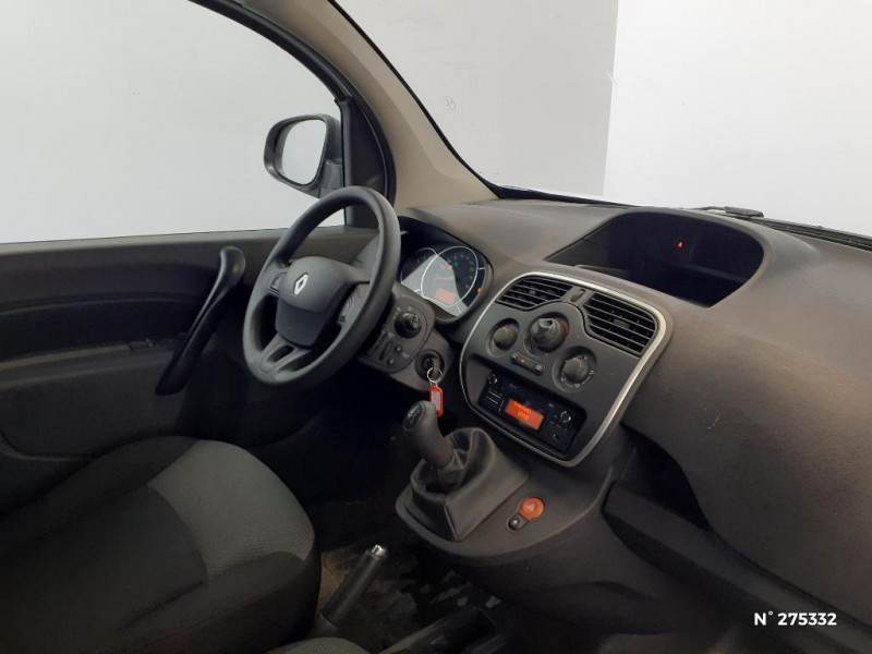 Renault Kangoo 1.5 dCi 75ch energy Grand Confort Euro6 Blanc occasion à Péronne - photo n°4
