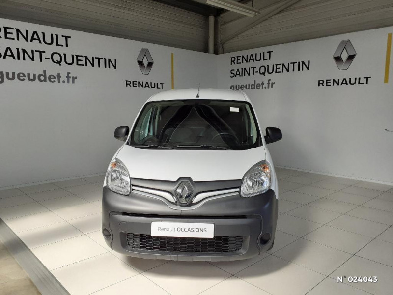 Renault Kangoo 1.5 dCi 75ch energy Grand Confort Euro6 Blanc occasion à Saint-Quentin - photo n°2