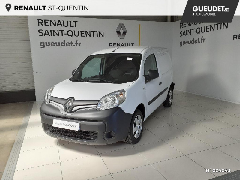 Renault Kangoo 1.5 dCi 75ch energy Grand Confort Euro6 Blanc occasion à Saint-Quentin