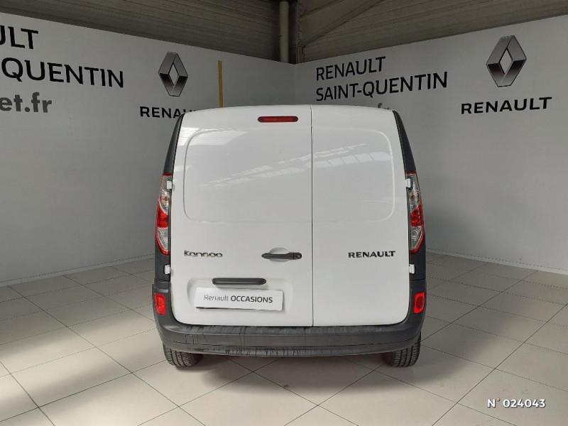 Renault Kangoo 1.5 dCi 75ch energy Grand Confort Euro6 Blanc occasion à Saint-Quentin - photo n°3