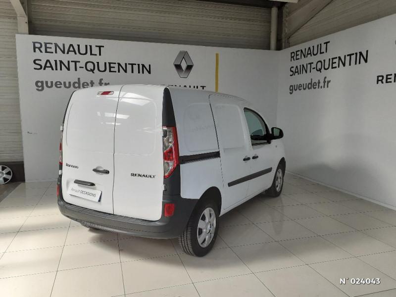 Renault Kangoo 1.5 dCi 75ch energy Grand Confort Euro6 Blanc occasion à Saint-Quentin - photo n°5