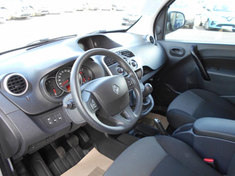 Renault Kangoo 1.5 DCI 90 E6 EXTRA R-LINK Blanc occasion à Bessières - photo n°9