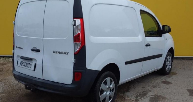 Renault Kangoo 1.5 DCI 90 ENERGY CONFORT Blanc occasion à Fontenay-le-vicomte - photo n°4