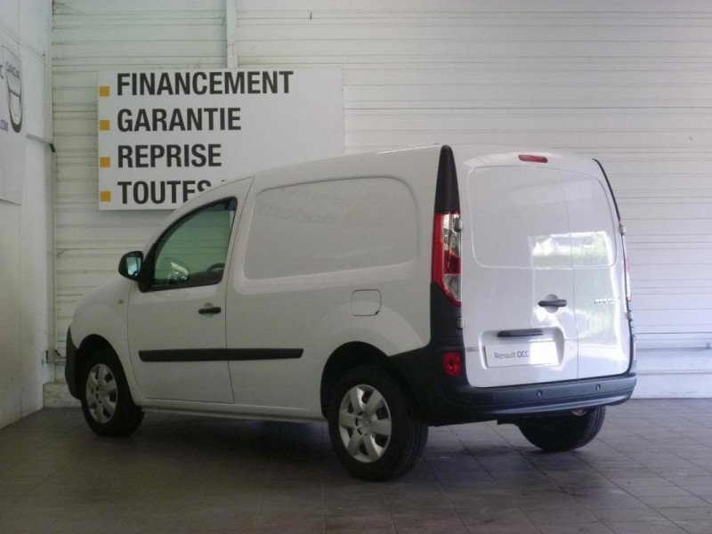 Renault Kangoo 1.5 DCI 90 ENERGY E6 EXTRA Blanc occasion à LOUDEAC - photo n°4