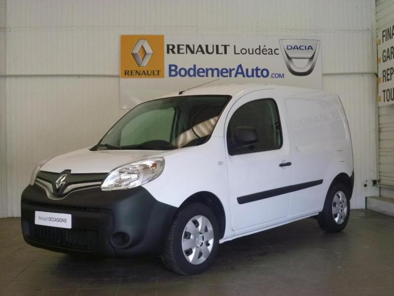 Renault Kangoo 1.5 DCI 90 ENERGY E6 EXTRA Blanc occasion à LOUDEAC