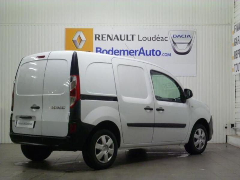 Renault Kangoo 1.5 DCI 90 ENERGY E6 EXTRA Blanc occasion à LOUDEAC - photo n°3