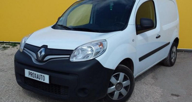 Renault Kangoo 1.5 DCI 90 ENERGY E6 GRAND CONFORT Blanc occasion à Fontenay-le-vicomte