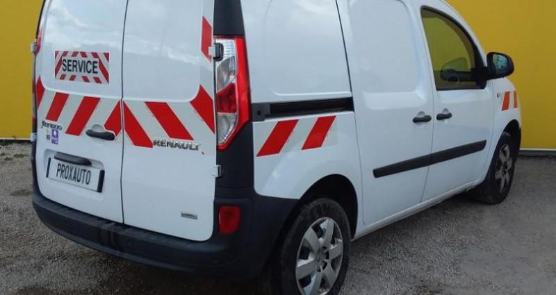 Renault Kangoo 1.5 DCI 90 ENERGY E6 GRAND CONFORT Blanc occasion à Fontenay-le-vicomte - photo n°4