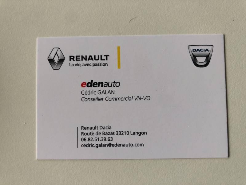 Renault Kangoo 1.5 DCI 90 ENERGY E6 GRAND CONFORT Gris occasion à Langon - photo n°10