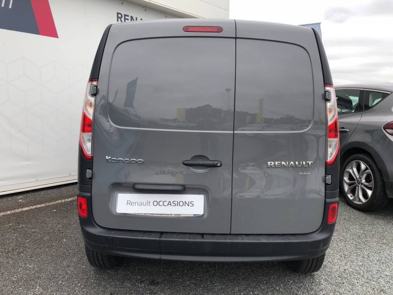 Renault Kangoo 1.5 DCI 90 ENERGY E6 GRAND CONFORT Gris occasion à Langon - photo n°4