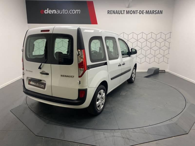 Renault Kangoo Blue dCi 80 Trend Blanc occasion à Mont de Marsan - photo n°11