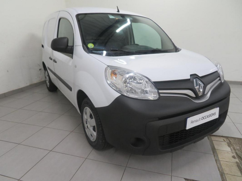 Renault Kangoo COMPACT 1.5 DCI 75 ENERGY Blanc occasion à QUIMPER - photo n°2