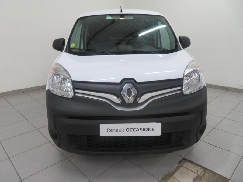 Renault Kangoo COMPACT 1.5 DCI 75 ENERGY Blanc occasion à QUIMPER - photo n°3