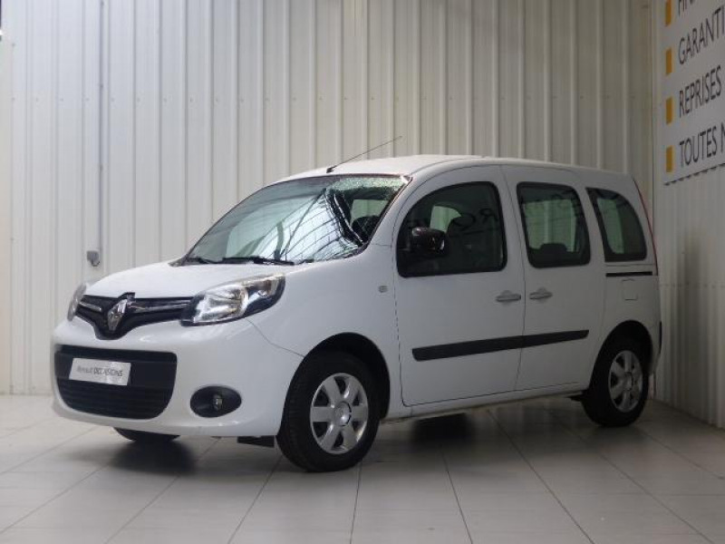 Renault Kangoo dCi 75 Energy Zen Blanc occasion à MORLAIX