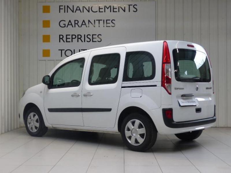 Renault Kangoo dCi 75 Energy Zen Blanc occasion à MORLAIX - photo n°4