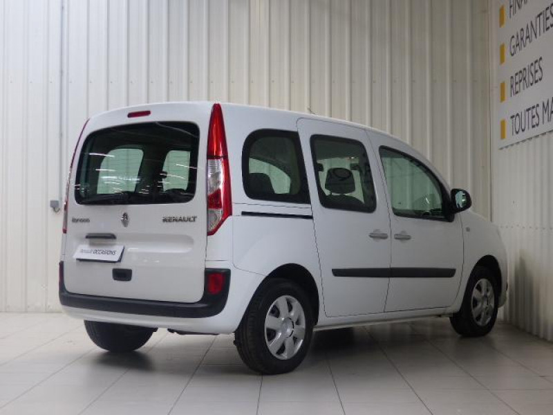 Renault Kangoo dCi 75 Energy Zen Blanc occasion à MORLAIX - photo n°3