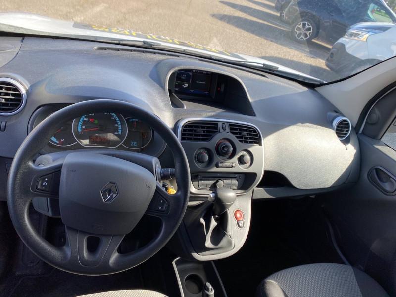 Renault Kangoo KANGOO Z.E. 33 EXTRA R-LINK 3p Blanc occasion à Agen - photo n°8