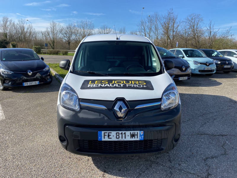 Renault Kangoo KANGOO Z.E. 33 EXTRA R-LINK 3p Blanc occasion à Agen - photo n°2