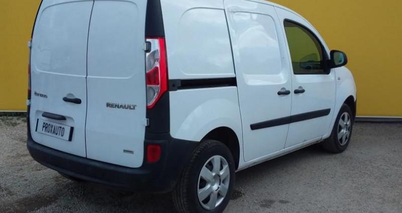 Renault Kangoo L1 1.5 DCI 75 ENERGY GRAND CONFORT Blanc occasion à Fontenay-le-vicomte - photo n°4