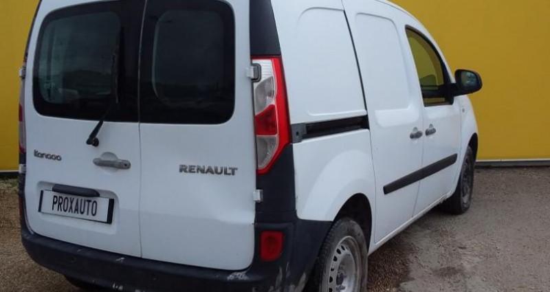 Renault Kangoo L1 1.5 DCI 90 ENERGY EXTRA Blanc occasion à Fontenay-le-vicomte - photo n°4