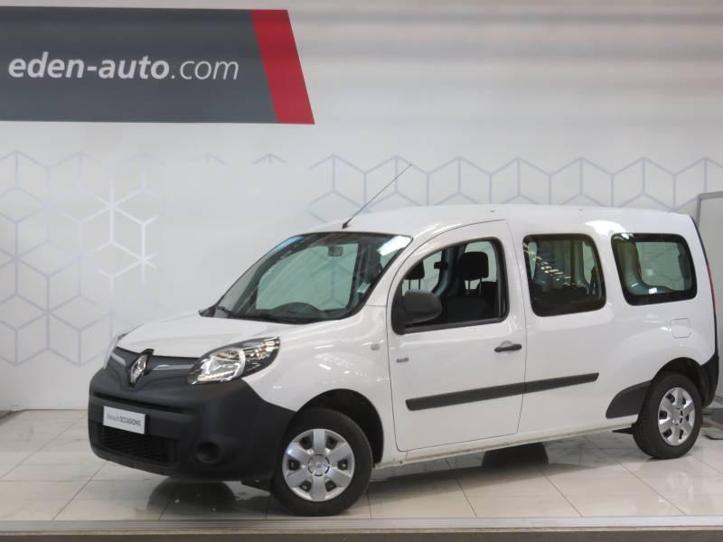 Renault Kangoo ZE Z.E. 33 MAXI 5 PLACES EXTRA R-LINK Blanc occasion à BAYONNE