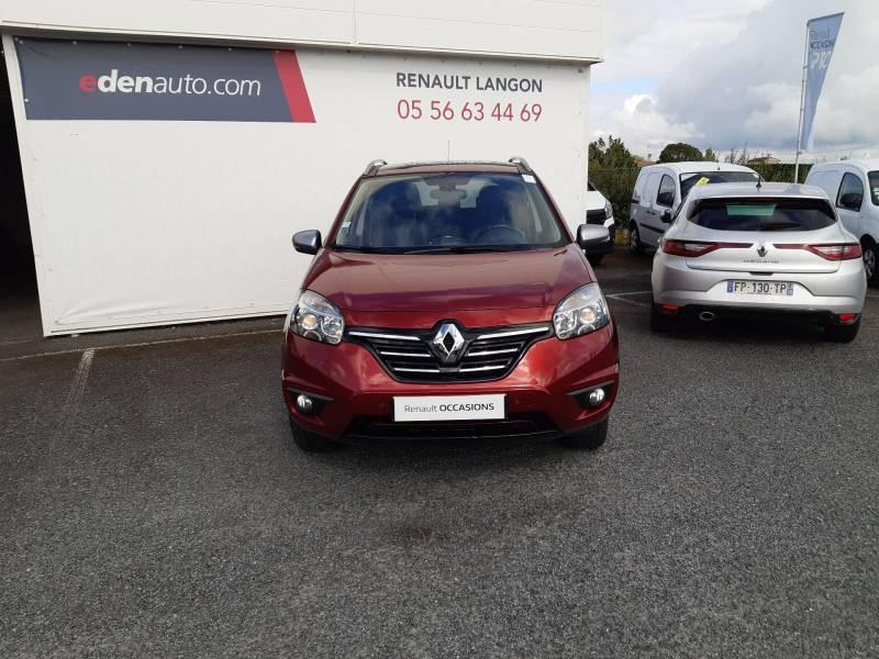 Renault Koleos 2.0 dCi 150 Intens Rouge occasion à Langon