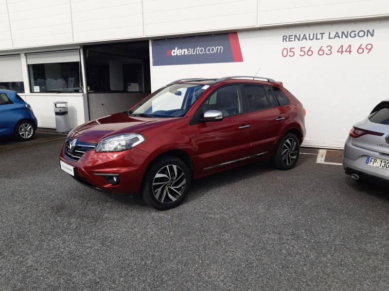 Renault Koleos 2.0 dCi 150 Intens Rouge occasion à Langon - photo n°2