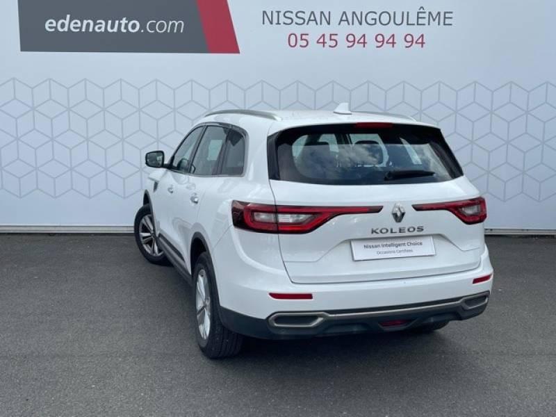 Renault Koleos dCi 130 4x2 Energy Zen Blanc occasion à Champniers - photo n°3