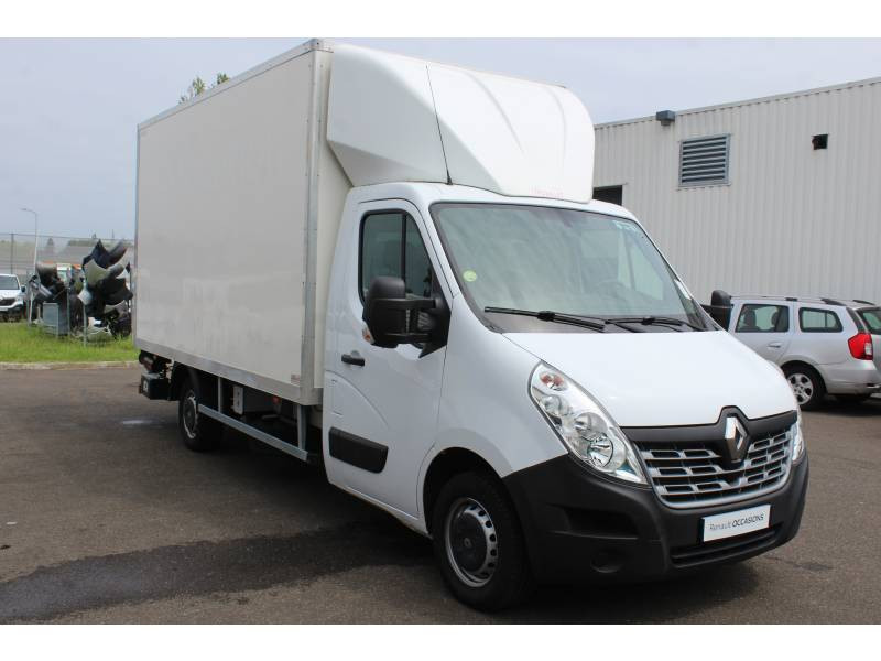 Renault Master CHASSIS CABINE CC L3 3.5t 2.3 dCi 145 ENERGY E6 GRAND CONFOR Blanc occasion à DAX - photo n°13