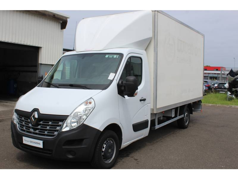 Renault Master CHASSIS CABINE CC L3 3.5t 2.3 dCi 145 ENERGY E6 GRAND CONFOR Blanc occasion à DAX - photo n°7