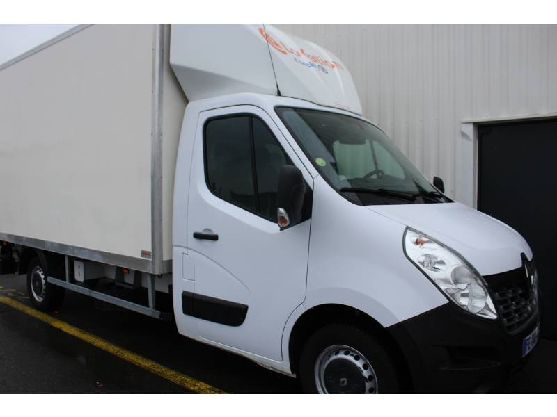 Renault Master CHASSIS CABINE CC L3 3.5t 2.3 dCi 145 ENERGY E6 GRAND CONFOR Blanc occasion à DAX
