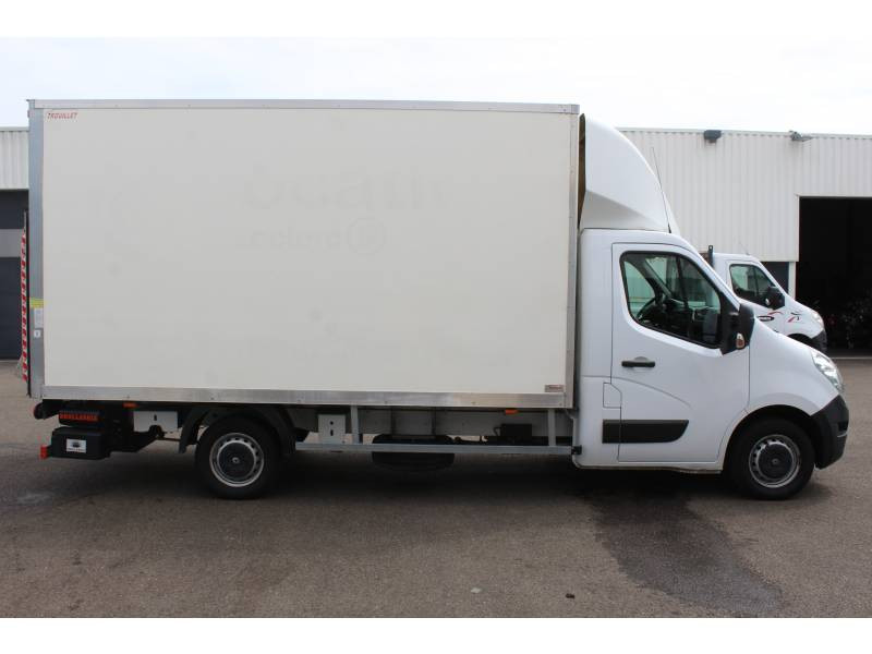 Renault Master CHASSIS CABINE CC L3 3.5t 2.3 dCi 145 ENERGY E6 GRAND CONFOR Blanc occasion à DAX - photo n°12