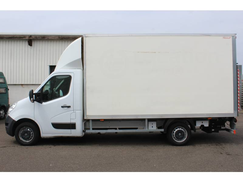 Renault Master CHASSIS CABINE CC L3 3.5t 2.3 dCi 145 ENERGY E6 GRAND CONFOR Blanc occasion à DAX - photo n°8