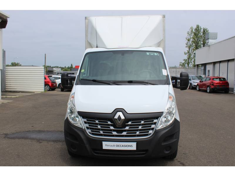 Renault Master CHASSIS CABINE CC L3 3.5t 2.3 dCi 145 ENERGY E6 GRAND CONFOR Blanc occasion à DAX - photo n°6